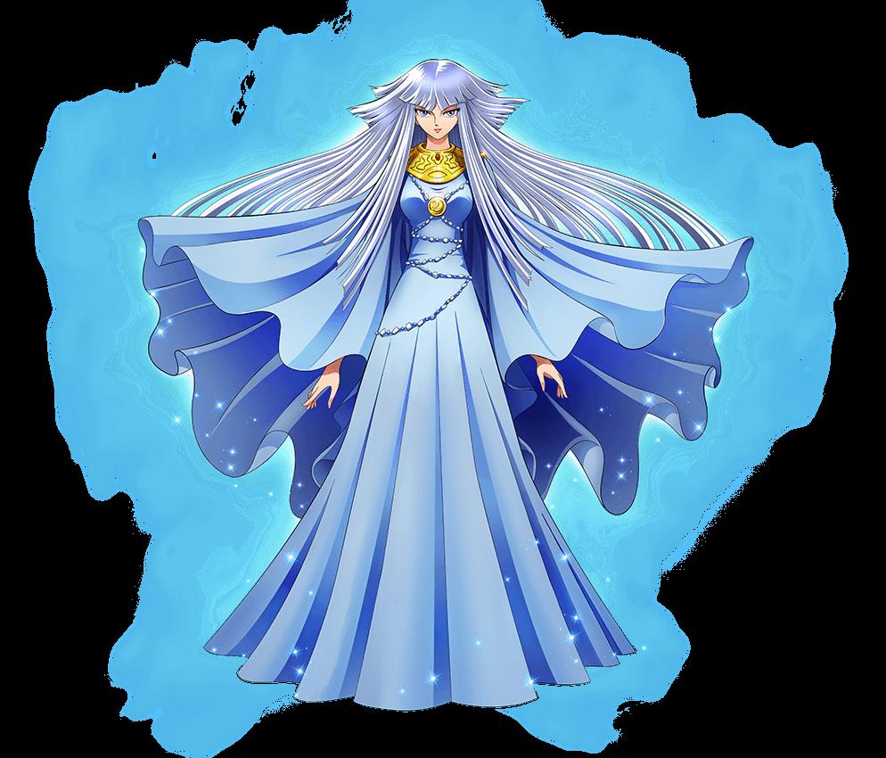 北欧圣女·希露达-立绘